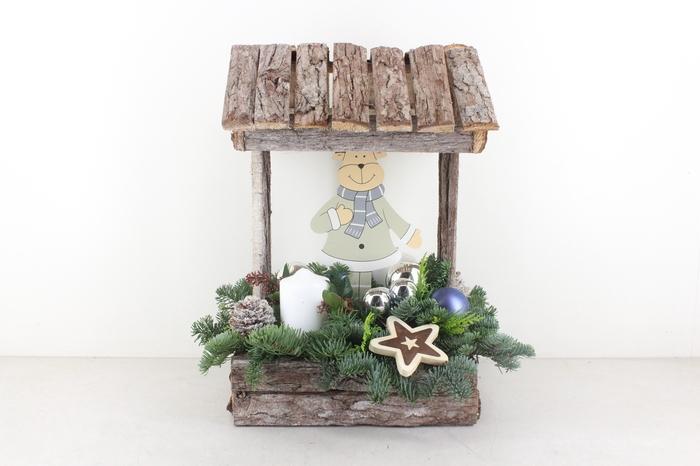 <h4>arr.. Kerst PL - Hout huis XXL wit</h4>