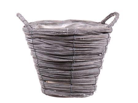 <h4>Basket Paia1 d21xh16 grey</h4>