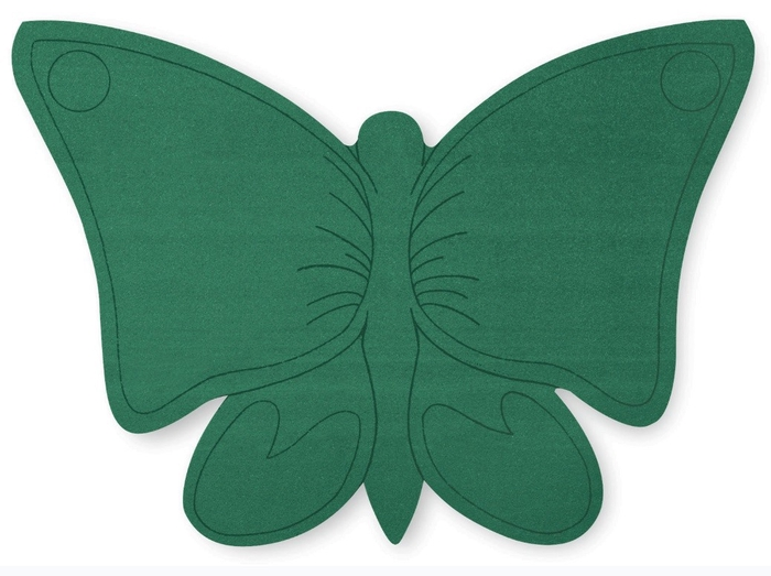 <h4>Foam Basic Butterfly 59*41cm</h4>