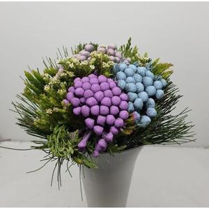 Bqt - Albiflora Pastel bouquet (p/bunch)