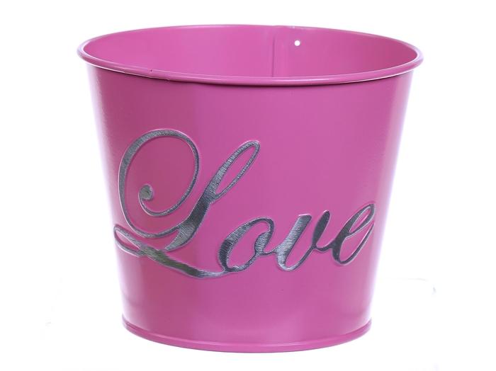 <h4>DF530335347 - Pot Lovey d13xh12 fuchsia</h4>