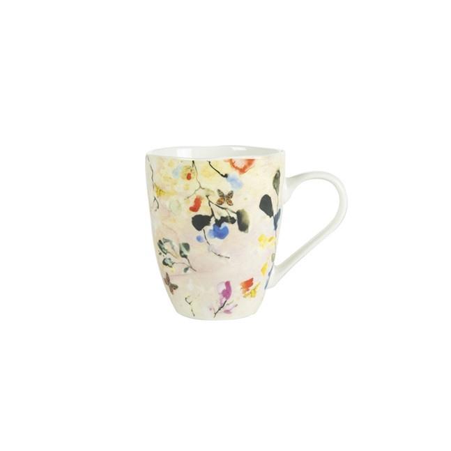 <h4>Homedeco Beker Blossom d9*11cm 300ml</h4>