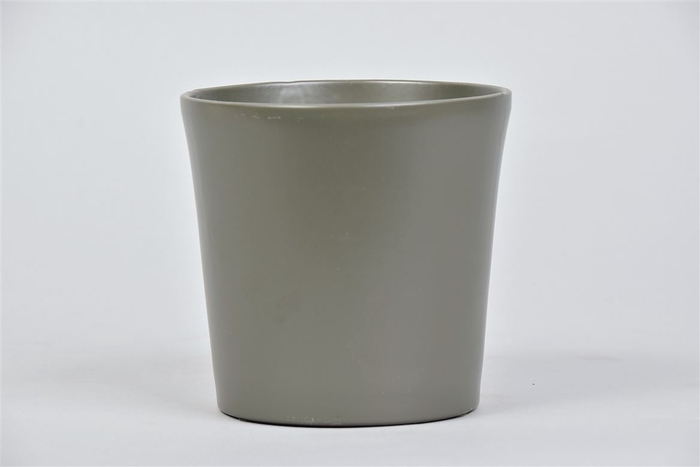 <h4>Nice Pot Groen Donker Orchidee 12x12cm</h4>