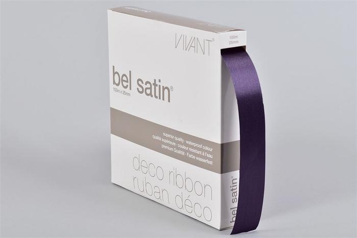 <h4>Lint Satin 33 Aubergine 100m X 25mm P/1</h4>