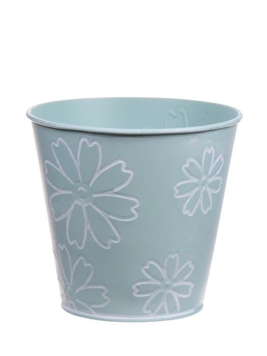 <h4>DF550242047 - Pot Jade2 d13.2xh12.5 light blue</h4>