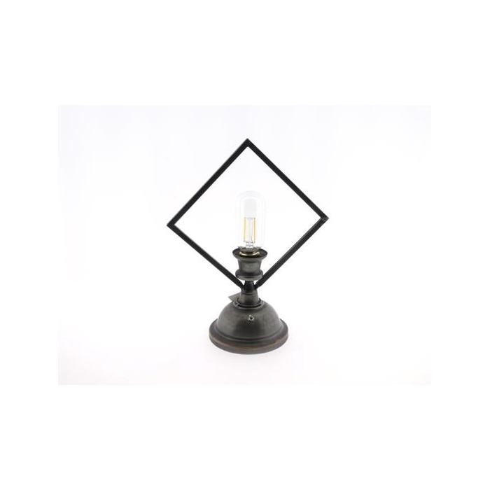 <h4>Lamp Table Led H30cm Black</h4>