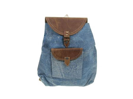 <h4>Bag Alinda blue canvas</h4>