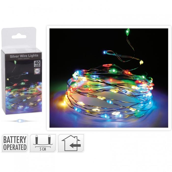 <h4>Kerst LED draad  40lmp</h4>