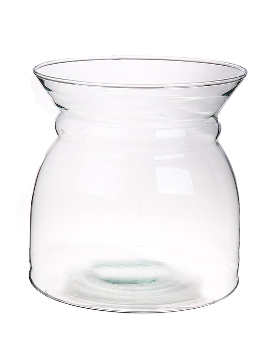 <h4>DF883544800 - Vase Barned d18.5xh19 clear Eco</h4>