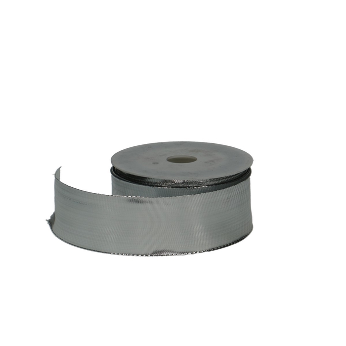 <h4>Ribbon Glitzer+wire 40mm 25m</h4>