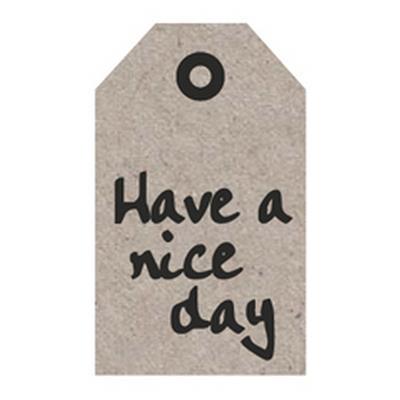 <h4>Bloemkaartjes ma -Have a nice day- pakje 20 stuks</h4>