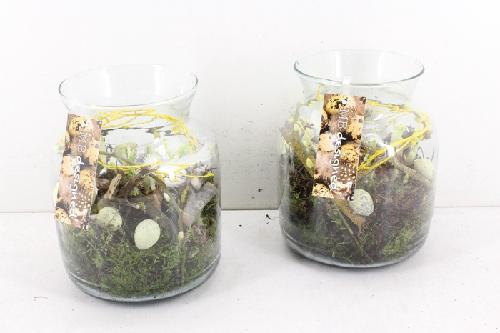 <h4>arr.. Narcis MB - Candy jar M geel</h4>