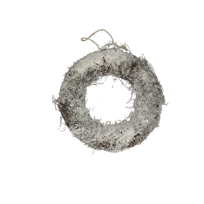 <h4>Kerst d30cm Salim krans+sneeuw</h4>