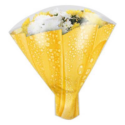 <h4>Housses 52x35x10cm OPP40 Drop On jaune</h4>