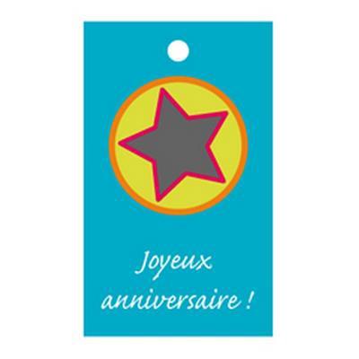 <h4>Bloemkaartjes ma -Joyeux annivers- pakje 20 stuks</h4>