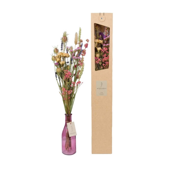 <h4>FLOWERS IN A VASE PINK</h4>