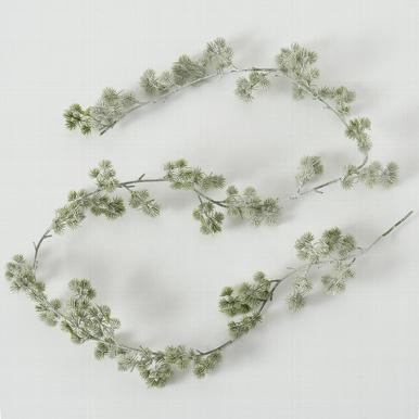 <h4>Zijde, Kiefer, L 180 cm, 1 ass, Green, White</h4>