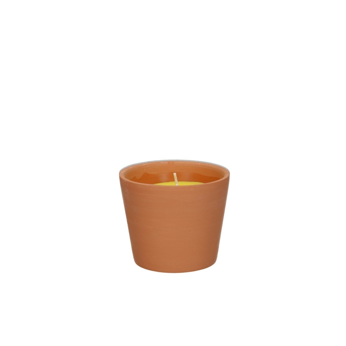 <h4>Candle Citronella candle pot d8*7cm</h4>