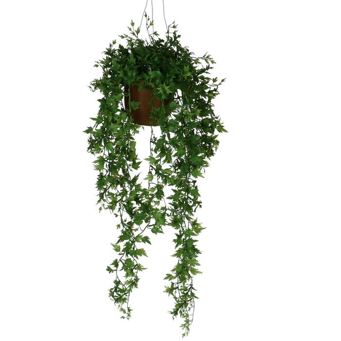 <h4>Silk Hangpot Ivy bush 50cm</h4>