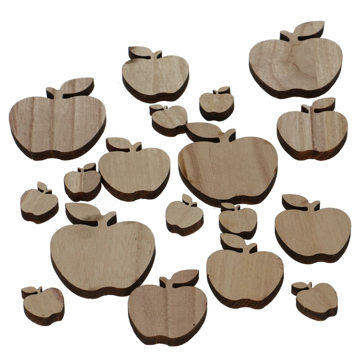 <h4>Autumn Wood Apple d3-7cm x18</h4>