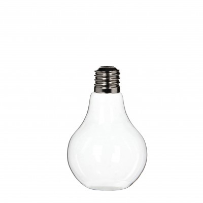<h4>Glas Vaas Gloeilamp d13*22cm</h4>
