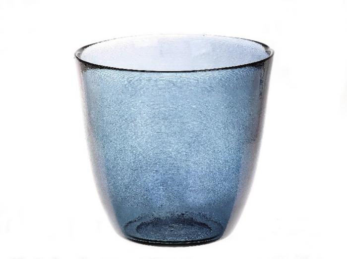 <h4>DF885074200 - Vase Kayana d18.5xh17.5 blue</h4>