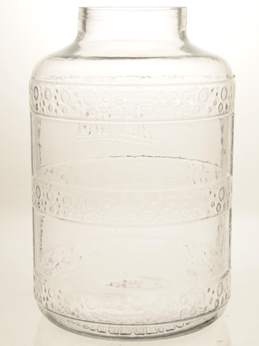 <h4>DF870624701 - Jar glass h45cm clear</h4>