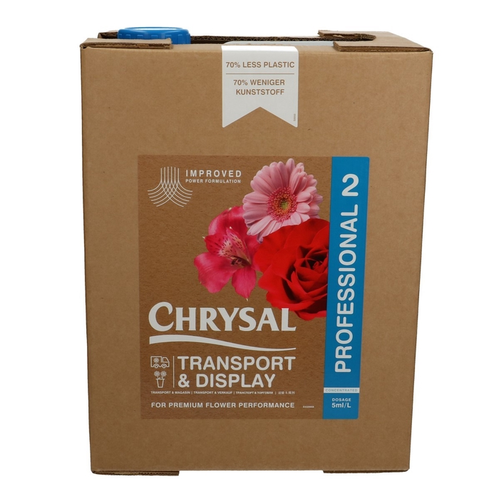 <h4>Abono organico Chrysal Prof.2 Bag-in-Box 20ltr</h4>