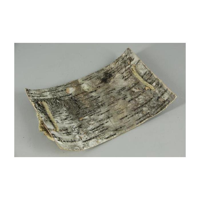 <h4>Birch Bark Slice+rope 37x24cm</h4>