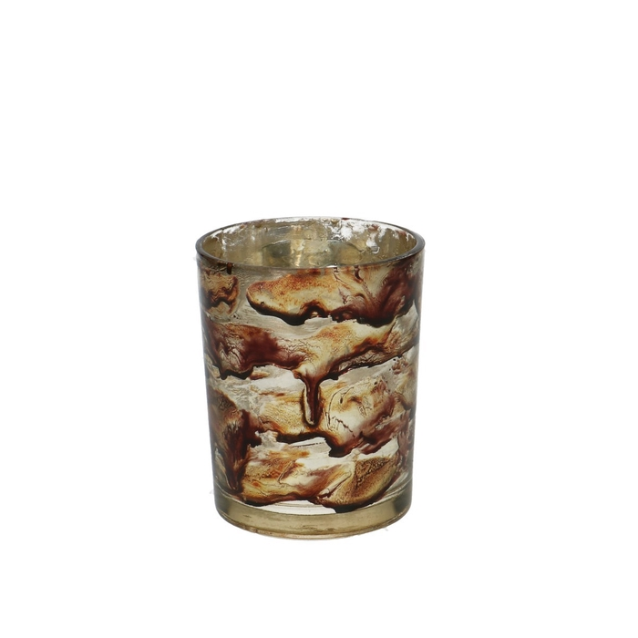 <h4>Candlelight Glass Marble d8*10cm</h4>