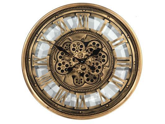 <h4>Clock Gear Ø60cm Ant.gld 81266</h4>