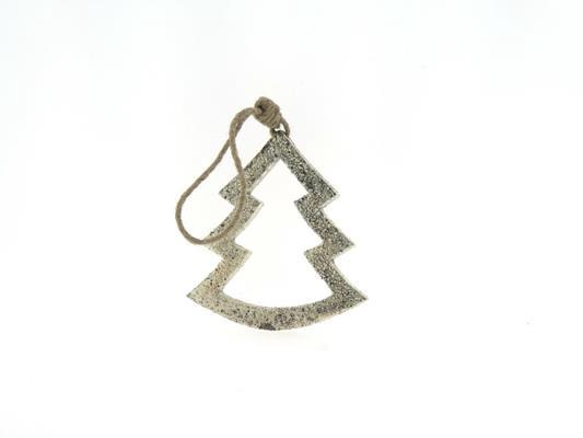 <h4>Tree Wood Open 15cm Platinum</h4>