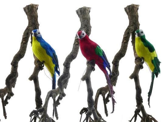 <h4>Fig. Feather Parrot 35cm Mix/3</h4>