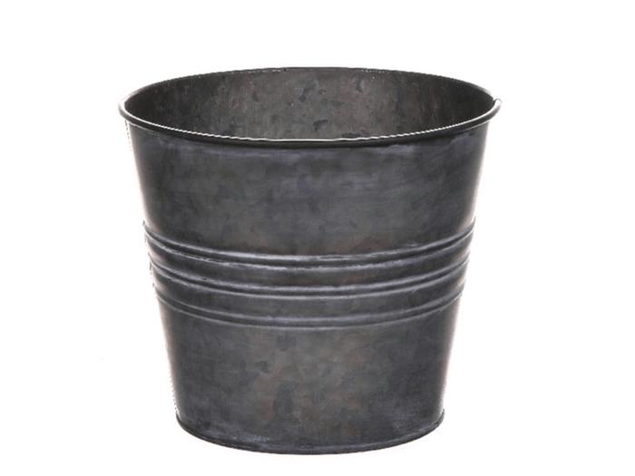 <h4>DF500062075 - Pot Yates d18.5xh16 grey</h4>