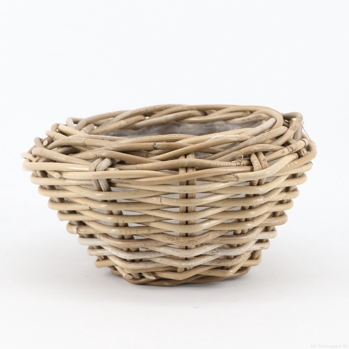 <h4>Baskets Rattan dish ball d32*14cm</h4>
