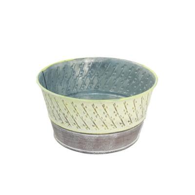 <h4>Zinc Pascal bowl d16*8.5cm</h4>
