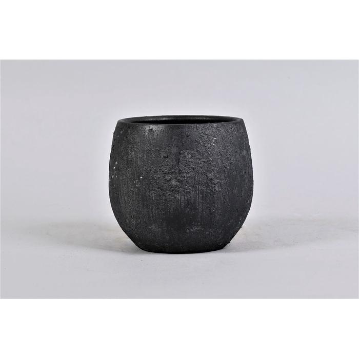 <h4>Bali Black Coal Pot 16x14cm</h4>