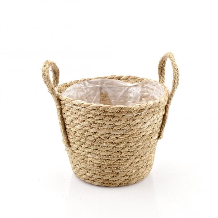 <h4>Baskets Linda pot d19/13.5*15.5cm</h4>