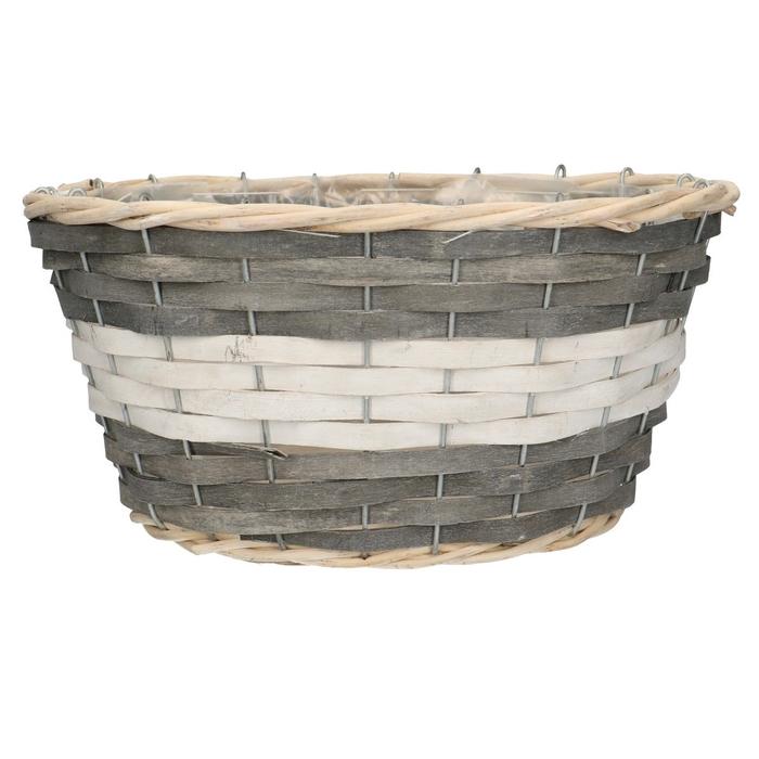<h4>Baskets Fleur tray ov.d29/22*14cm</h4>