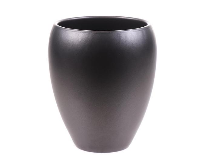 <h4>DF884340200 - Pot Kaelie d14xh18.5cm anthracite</h4>