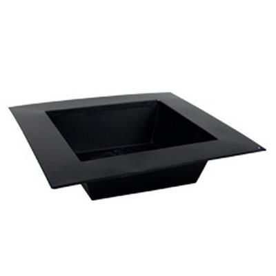 <h4>Bowl Alicante zinc L31xW20xH5,5cm black</h4>
