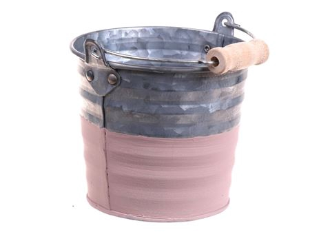 <h4>Bucket Yreka d10.5xh9 old pink</h4>