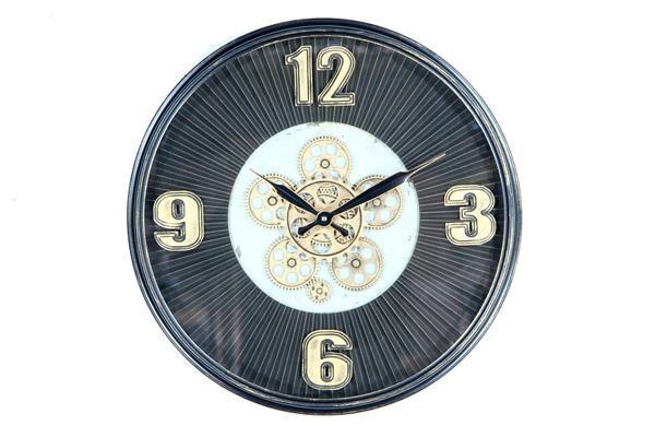 <h4>Clock Gear Ø53cm D.brown 81488</h4>