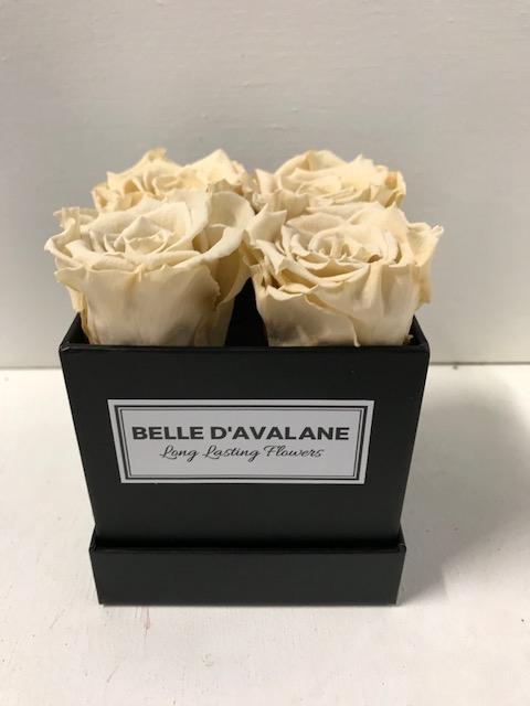 <h4>Flowerbox vk 10cm zwart/champagne</h4>