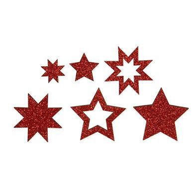 <h4>Christmas Star glitter 4*4cm x72</h4>