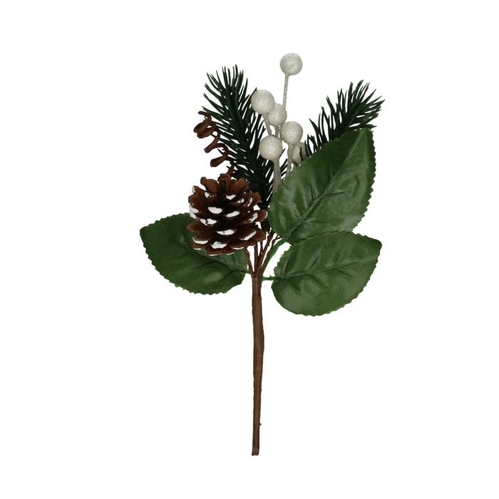 <h4>Christmas sticks 10cm Pinecone deco</h4>