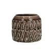 Ceramics Ribbon pot d15*12cm