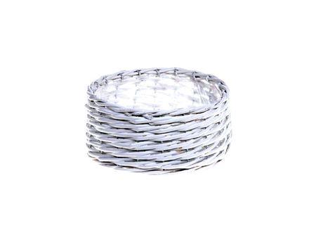 <h4>Basket Benthe d27.5xh12 white</h4>