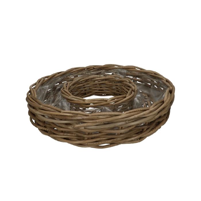 <h4>Baskets Rattan ring d30*9cm</h4>