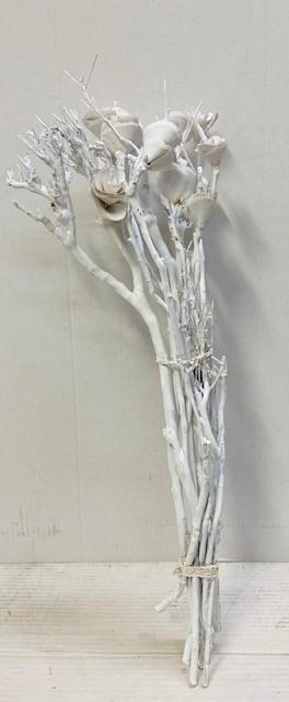 <h4>DF883830200 - Dried leafs white 60cm</h4>